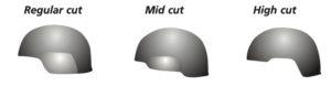 Helmet Cut Options