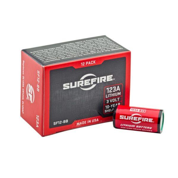 Surefire 123A Batteries Box