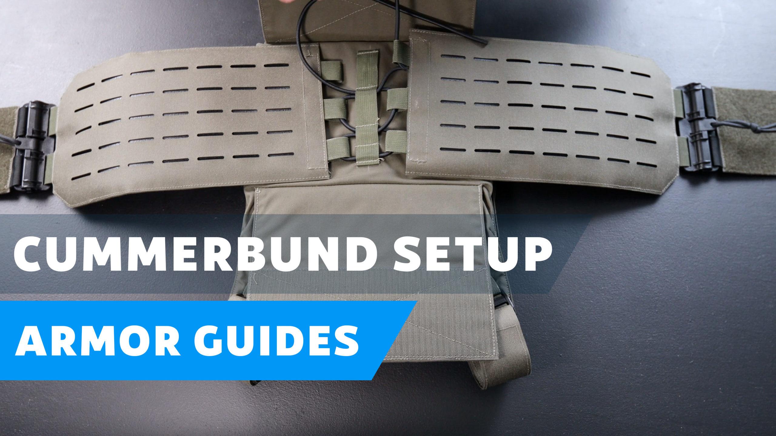 How to Setup a Cummerbund