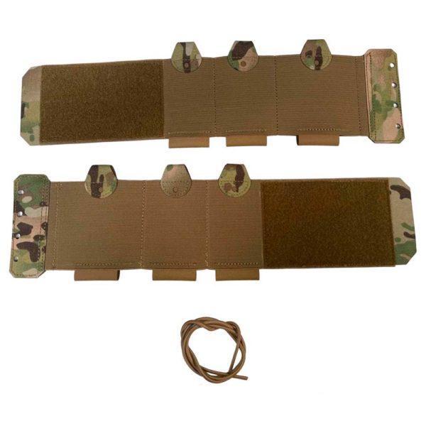 Elastic Velcro Cummerbund Multicam Set