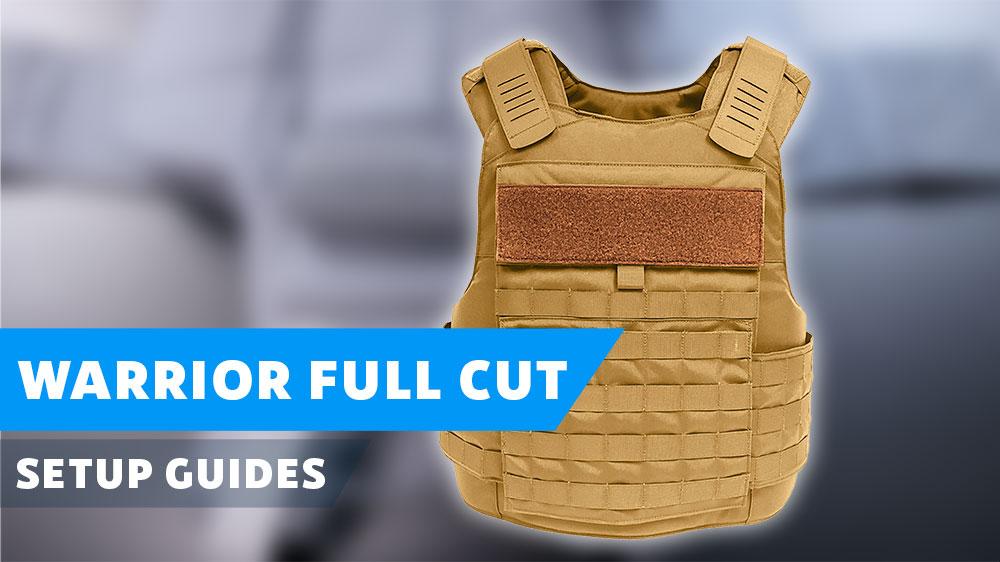 Warrior Full Cut Carrier Poster