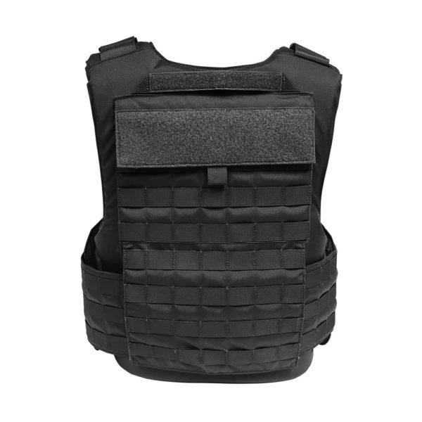 Warrior Full Cut Carrier Black Back View