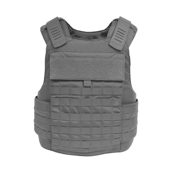 Warrior Full Cut Carrier Operator Grey Front View