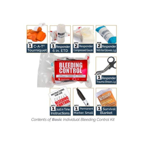 Bleeding Control Kit Contents