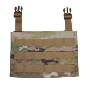 MOLLE Kangaroo Front Flap Black